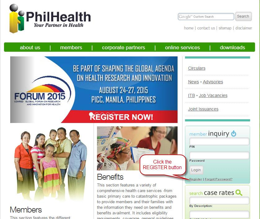 How to check philhealth contributions e pinoyguide for Registrator health check