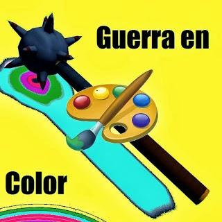 ¡Guerra en color!