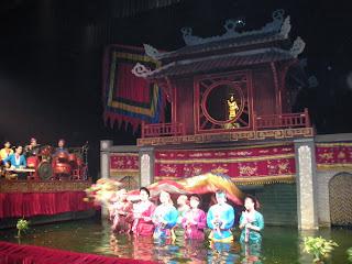 O Teatro de Marionetes de Água em Hanói - Vietnã