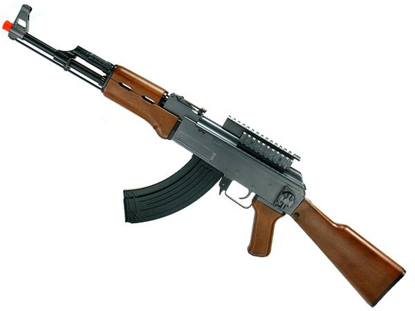 ak 47 machine gun