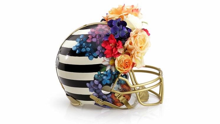 Haute Couture Helmet by Nicole Miller