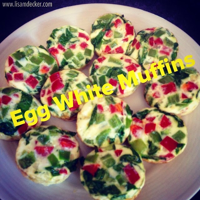 Egg White Muffins, 21 Day Fix Snacks