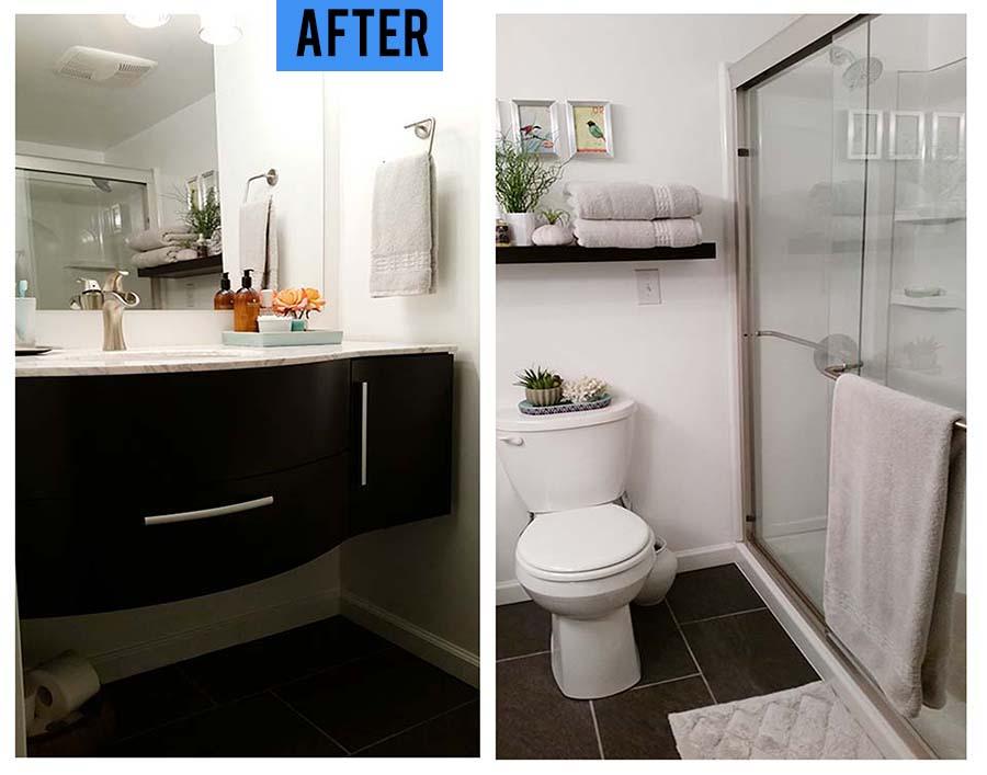 50 50 Diy Bathroom Remodel