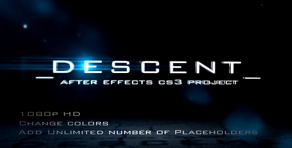 VideoHive DESCENT