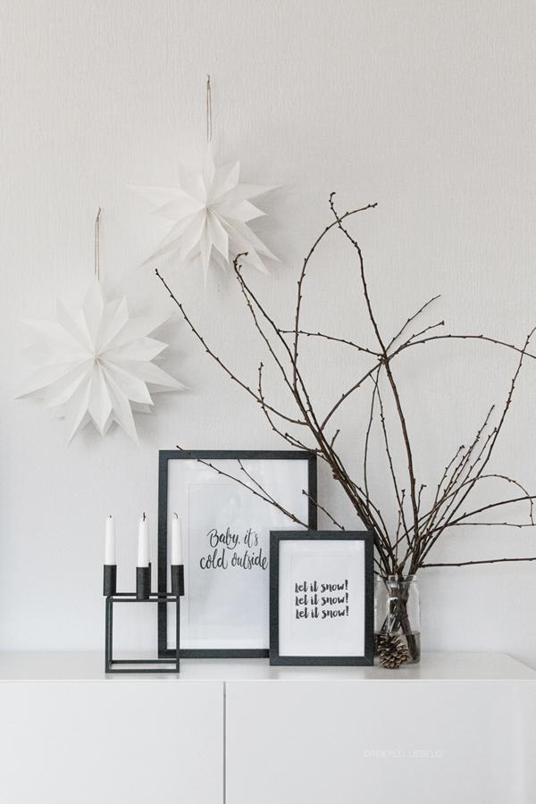 unser neues zuhause wohnzimmer im advent dreierlei. Black Bedroom Furniture Sets. Home Design Ideas