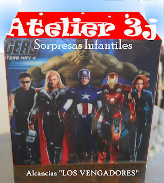 Sorpresas Infantiles -SUPER HEROES, LOS VENGADORES