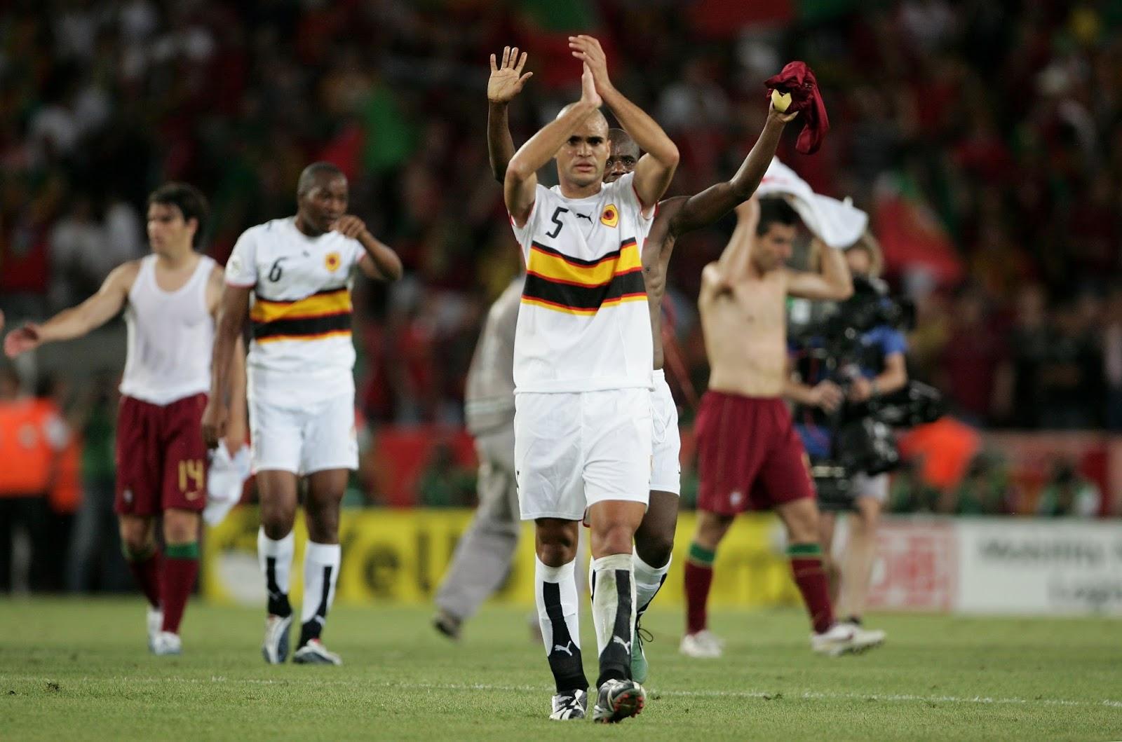 Resultado de imagen para Angola Mundial alemania 2006