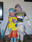 Brennon as Jo Jo... and Zachary as Buzz Lightyear