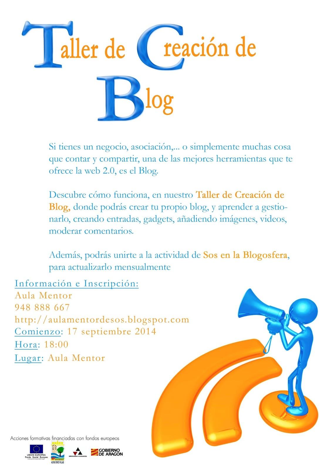 Taller de Blog - Sos del Rey Católico