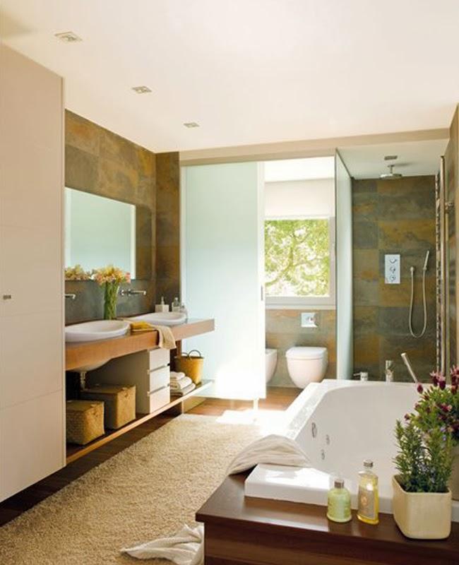 Baño Con Inodoro Separado: doble (arriba) con inodoros separados para tener privacidad de uso