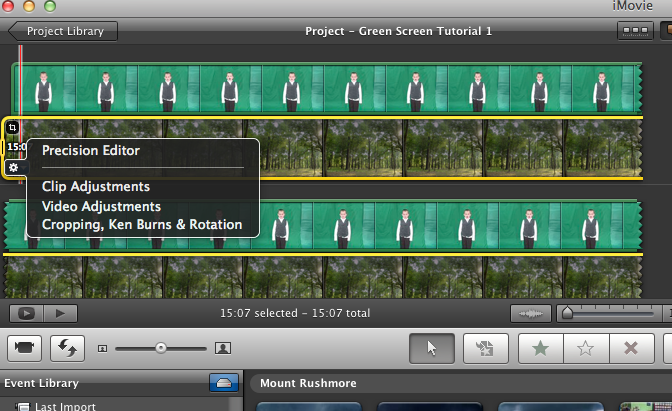 how to change background in imovie without green screen