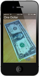 LookTel Money Reader iPhone App Instantly Recognizes US Currency