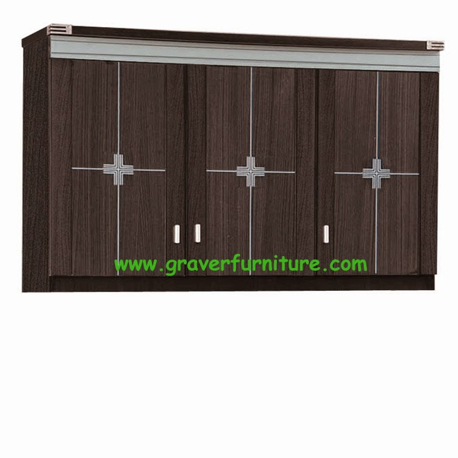 Kitchen Set Atas 3 Pintu KSA 2843 Graver Furniture