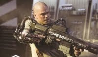 Elysium Film starring Matt Damon.