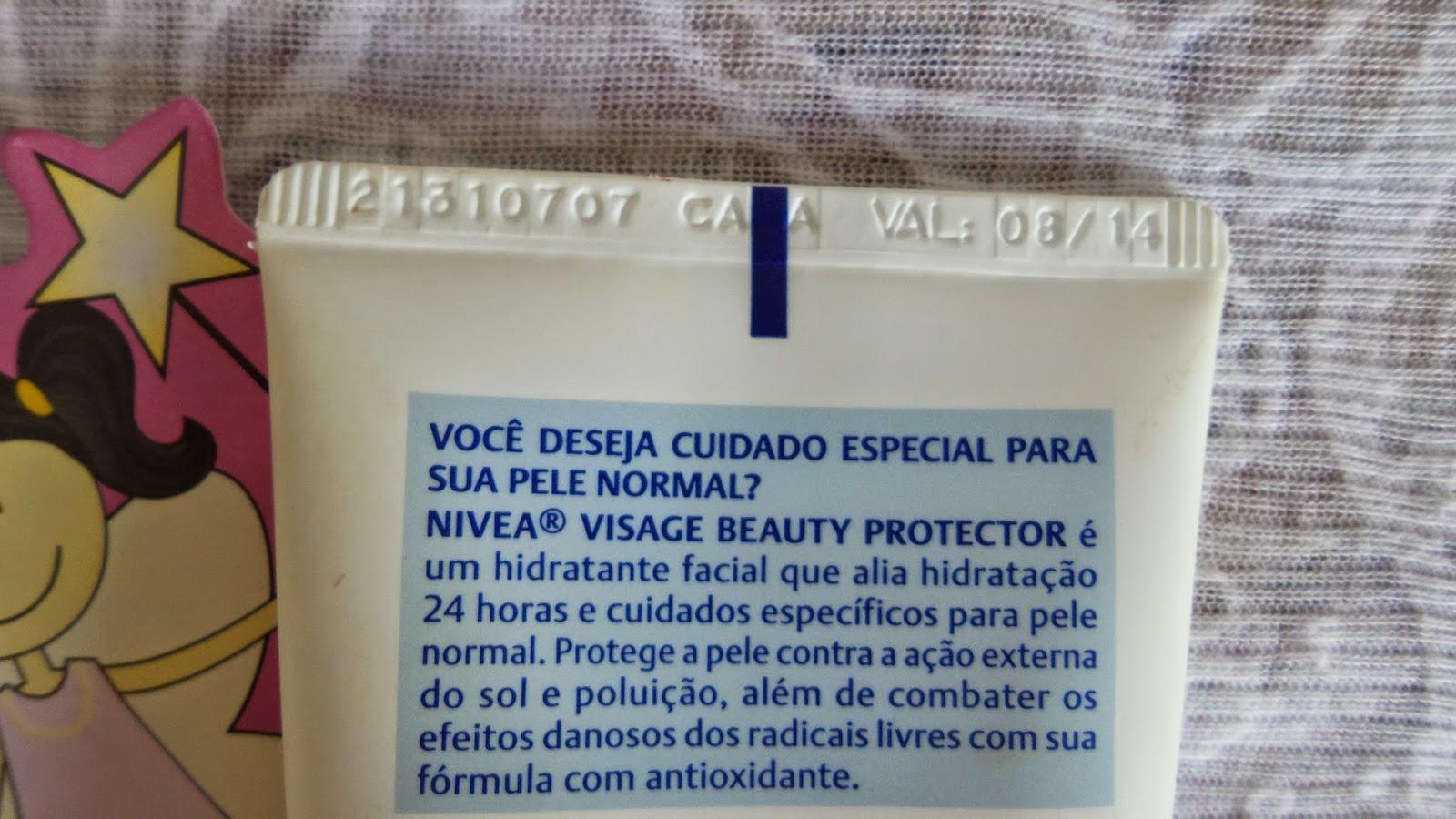 Hidratante Beauty Protector  Nivea