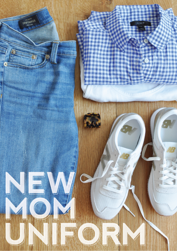 creating your own new mom uniform.