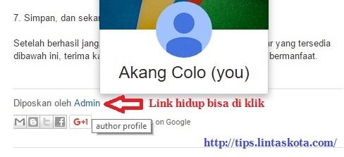 cara menghapus link hidup pada komentar blog