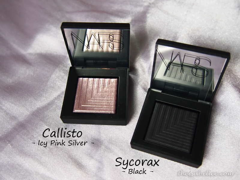 NARS Dual-Intensity Eyeshadow Callisto and Sycorax