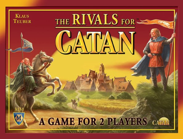 Times Played: 5x (Rivals for Catan) 25x + (Settlers of Catan Card Game)