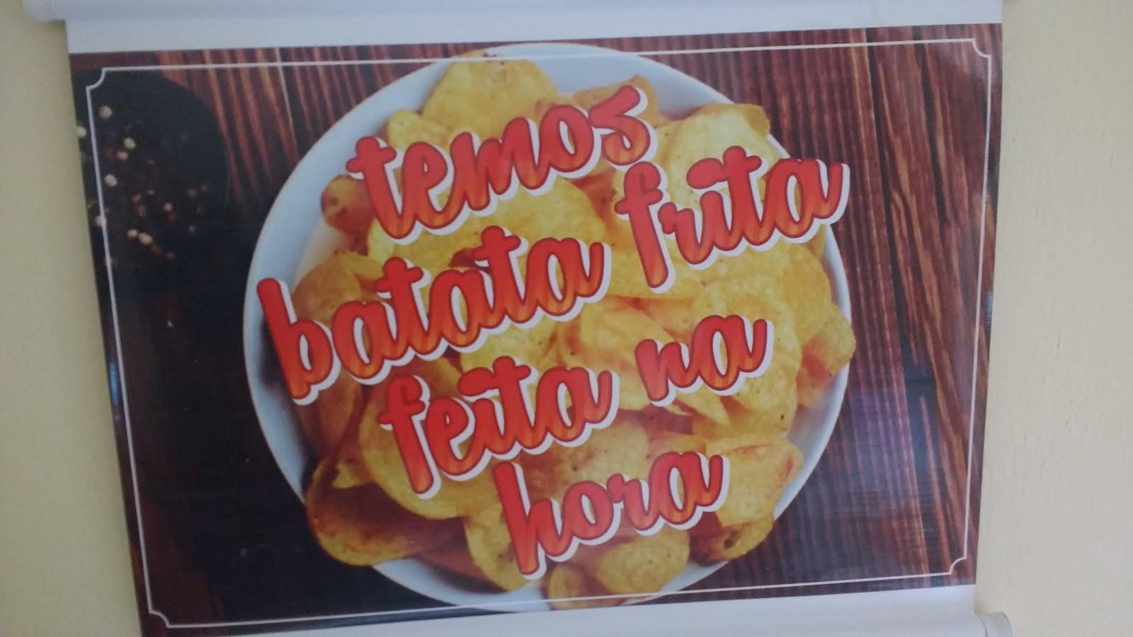 Batatas fritas na Hora