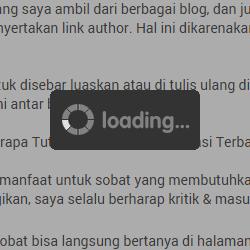 Efeito carregamento no blogger como Adicionar