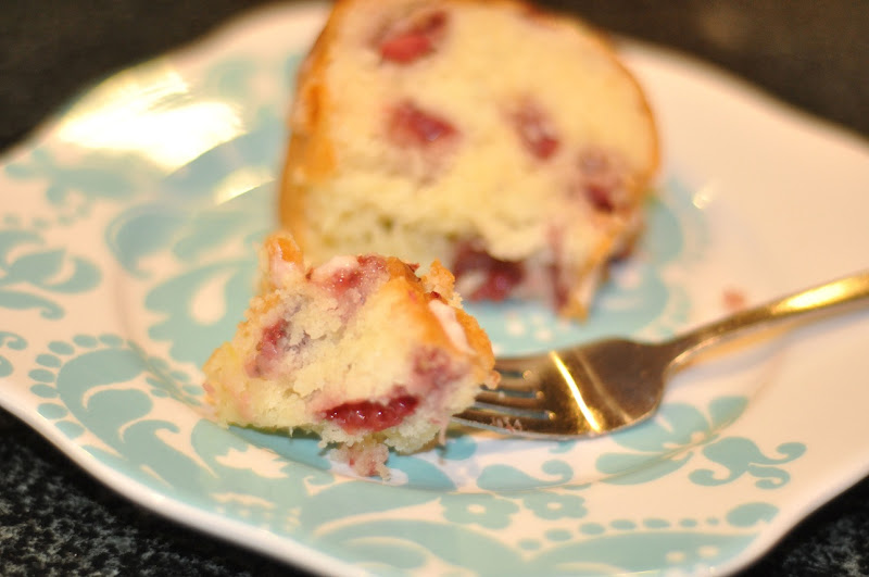 fresh strawberry yogurt cake | Little Birdie Secrets