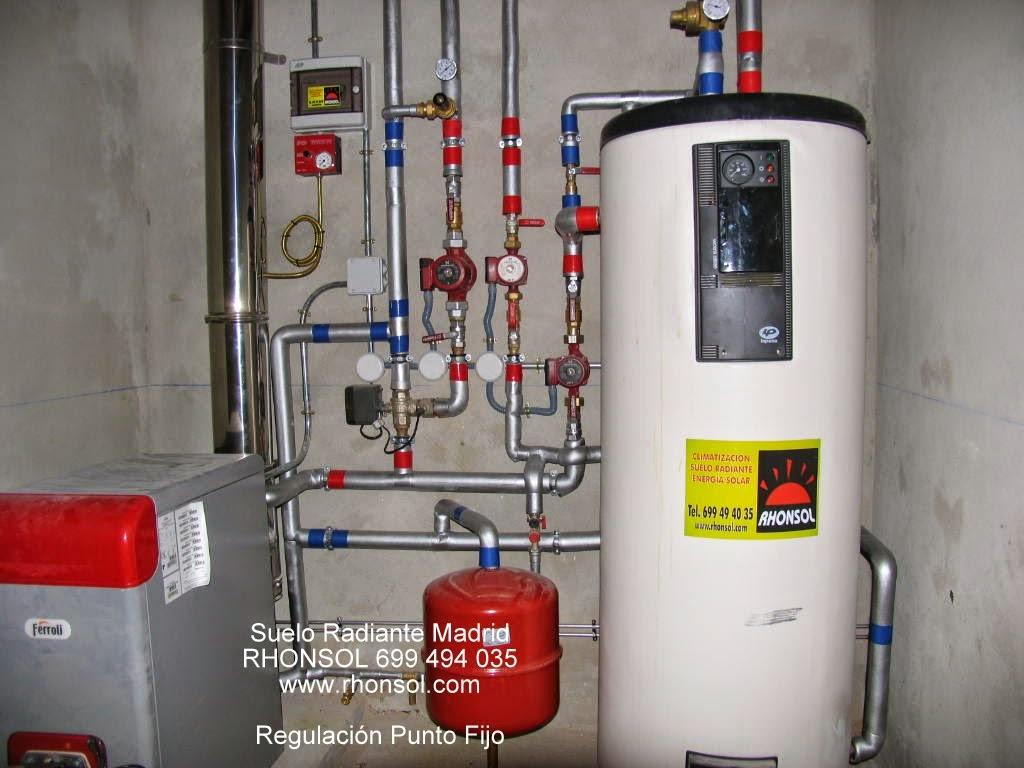 Suelo radiante madrid rhonsol 699 494 035 info rhonsol - Calderas para suelo radiante ...