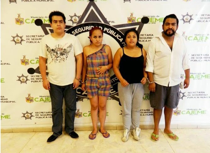 Detienen en Sonora a integrantes de la banda.