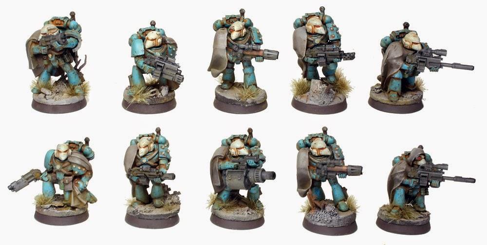 Pre Heresy Alpha Legion Mor Deythan Strike Squad