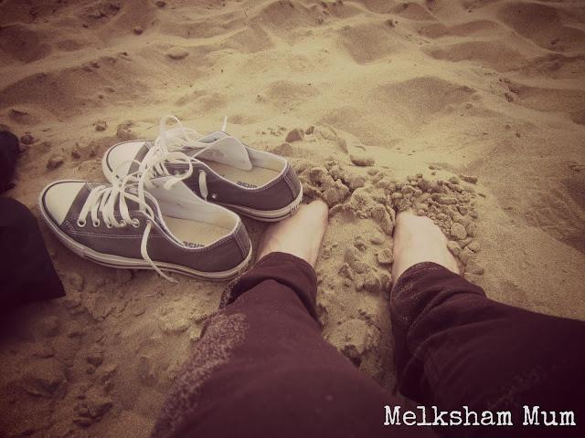 Croyde beach & Converse