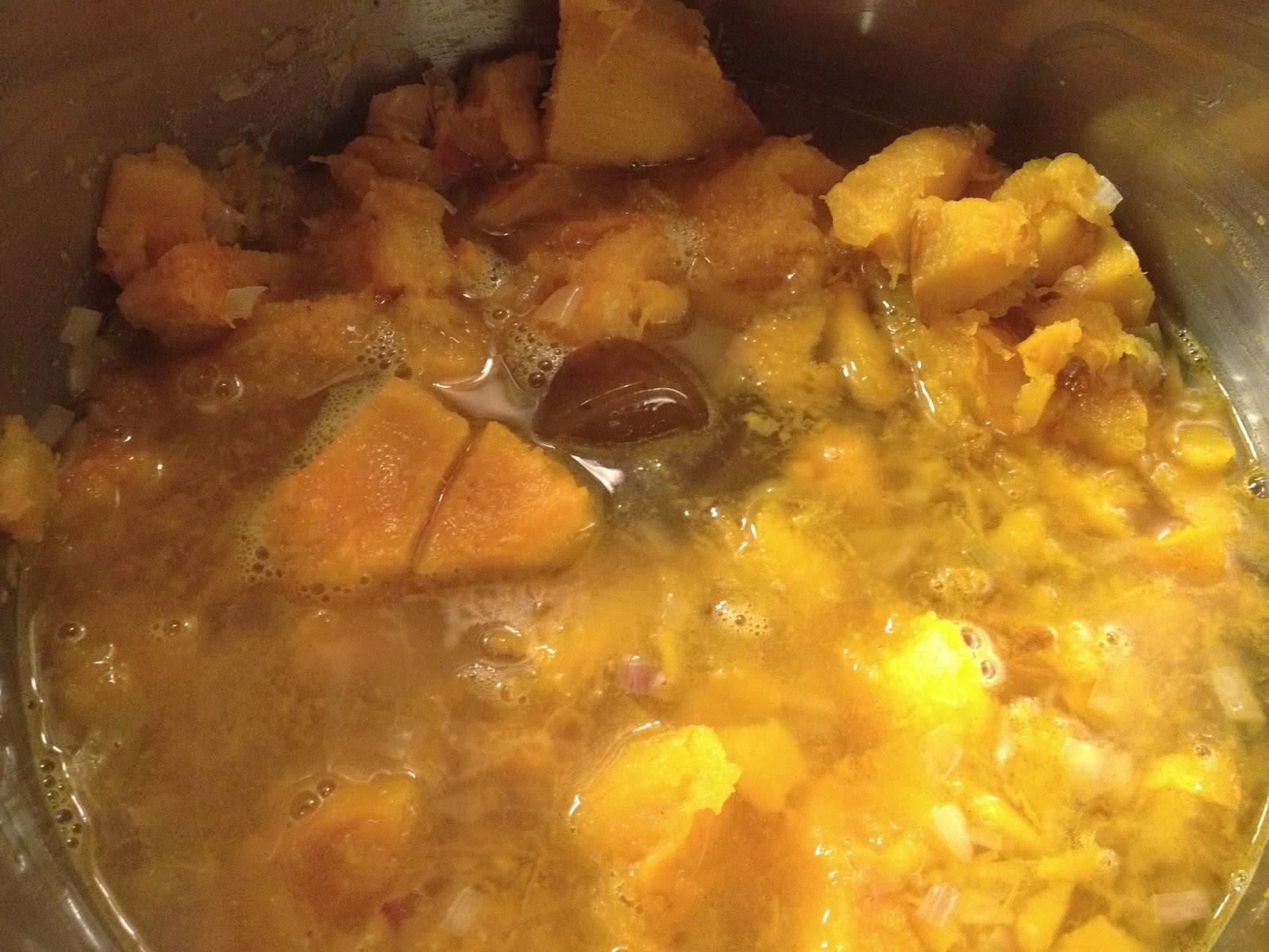 pumpkin soup stock
