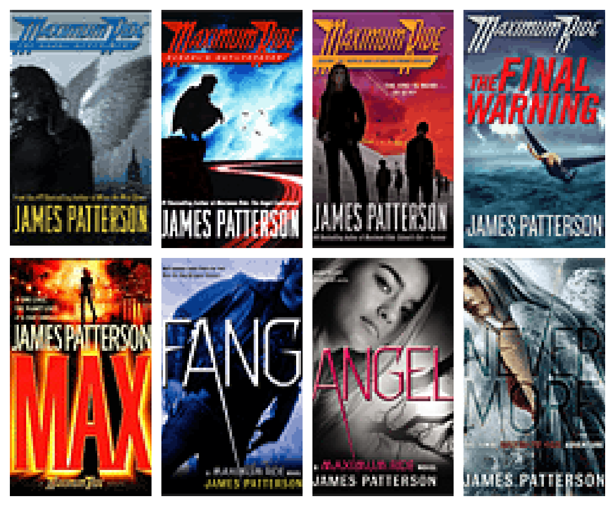 Complete order of Maximum Ride books in Publication Order and Chronological Order