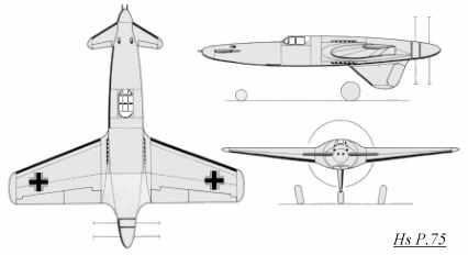 Henschel Hs P 75