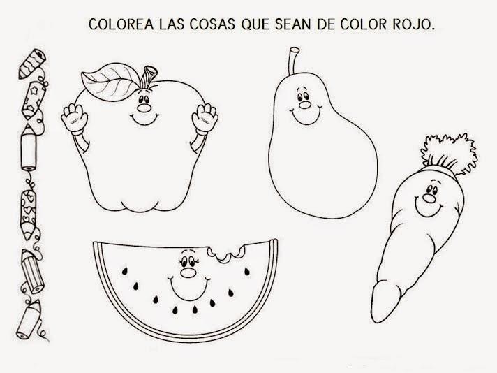 INFANTILES DE ANA V.: LOS COLORES: EL COLOR ROJO