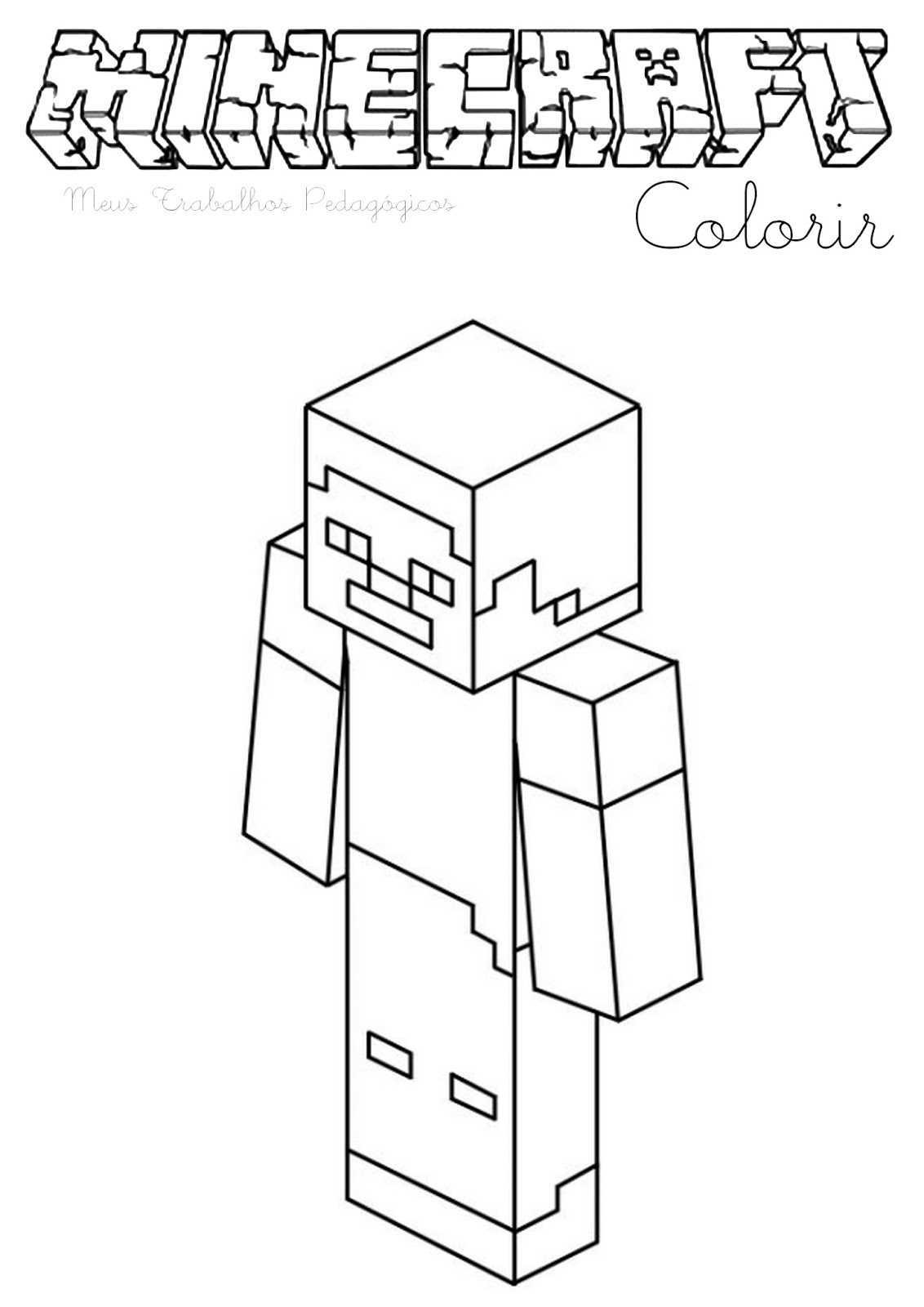 coloring pages minecraft stampylongnose halloween - photo#42