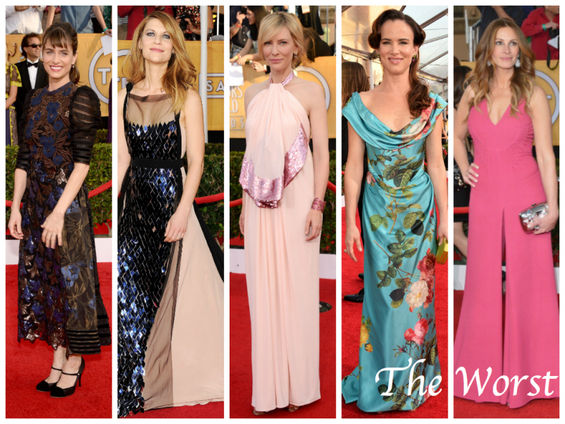 SAG AWARDS 2014: The Best & The Worst