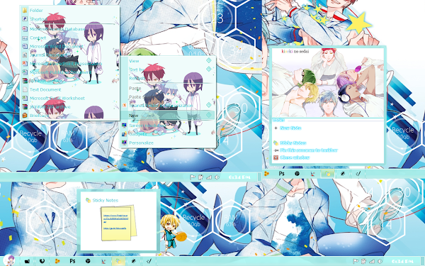 Theme Kiseki No Sedai Kuroko No Basket [Windows 7 ] 4