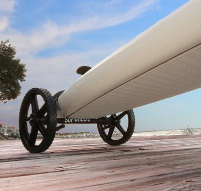 paddleboard cart