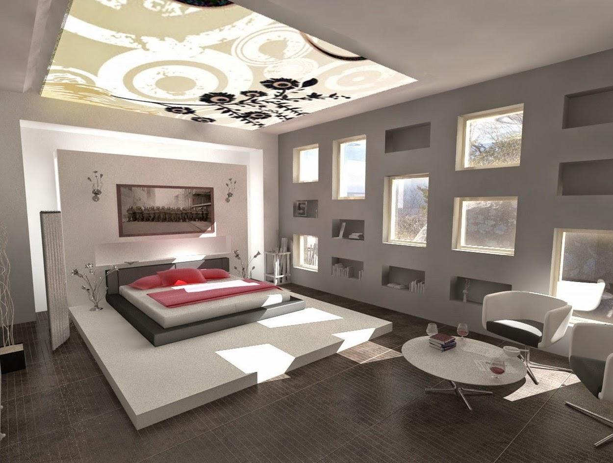 Modern Bedroom Interior Design Ideas #16