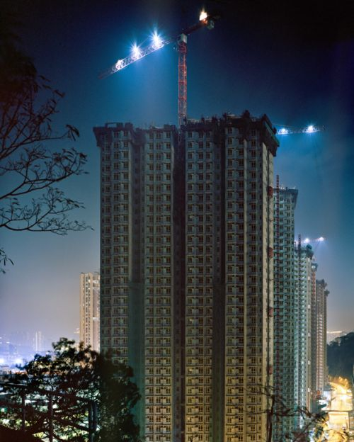 Greer Muldowney cidades abarrotadas predios Hong Kong