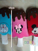 Bantal Boneka ice cream