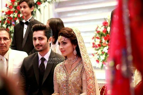 Ayeza Khan and Danish Taymoor Wedding Album