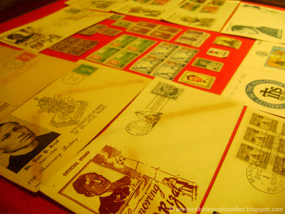 Jose Rizal Museum: Stamps and Post