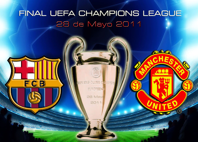 Final UEFA Champions League Barcelona vs Manchester United