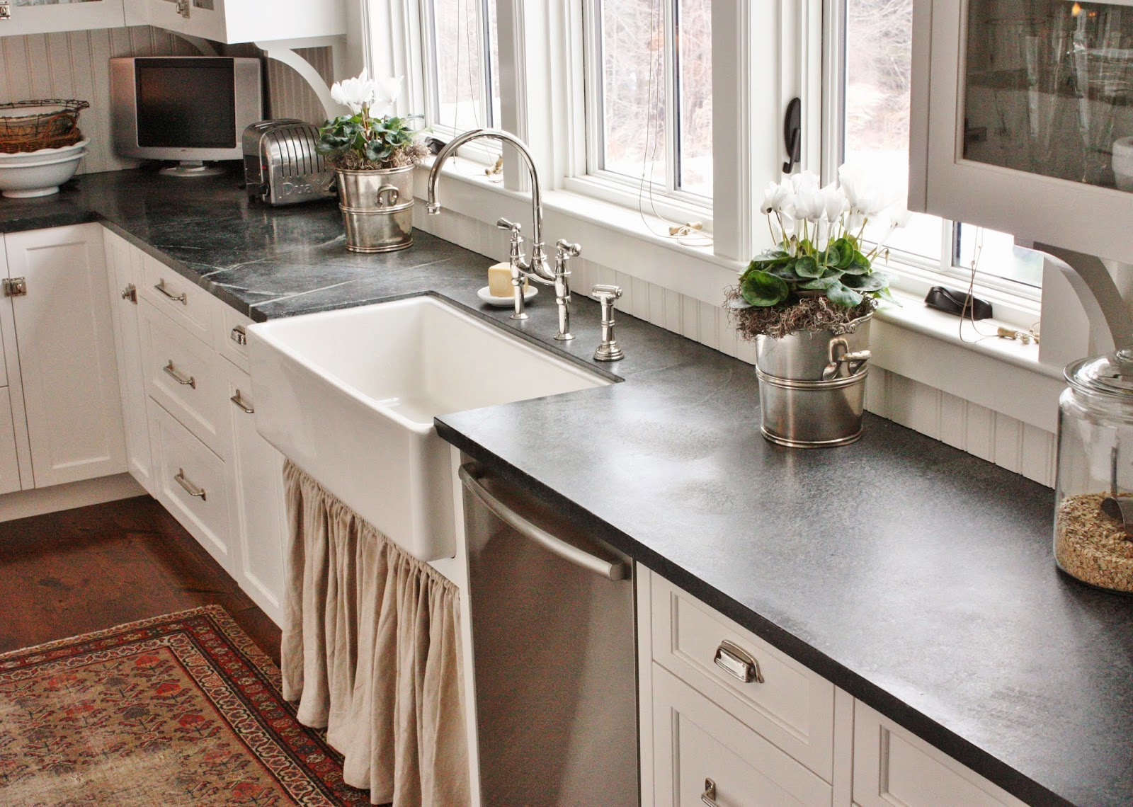 Lovely For The Love Of A House: Soapstone.