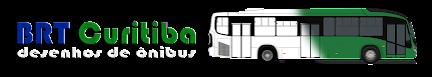 BRT CURITIBA - Desenho de Ônibus