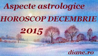 Aspecte astrologice în horoscopul decembrie 2015