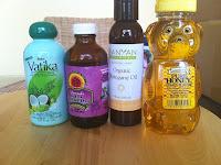 castor oil and honey for hair treatment
