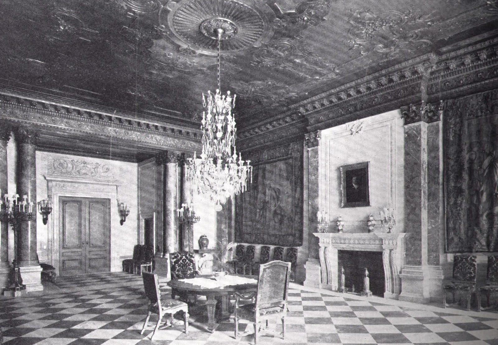 mansions of the gilded age april 2012 dining room of john jacob astor s fifth avenue mansion