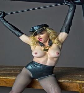 Caem na rede fotos da Madonna de topless para revista L'uomo Vogue